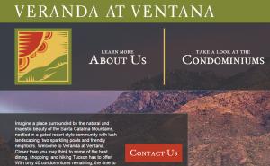 Veranda at Ventana Landing Page